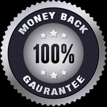 100% No-Risk Double-Guarantee Seal