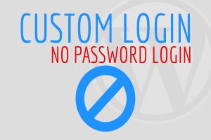 No Password Login