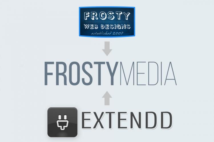 Frosty Web Designs & Extendd Merger